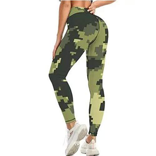 CUPPP Yoga Leggings Mujer Push up Mallas Pantalones Cintura Alta Leggins Deportivos Pantalón Moda para Fitness Running Training Deporte Elásticos y Transpirables