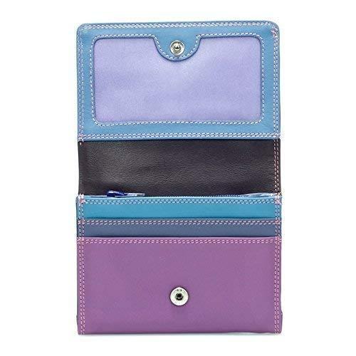 Mywalit leren klep portemonnee 370 zoet violet