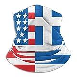 American Greece Greek Flag Men...