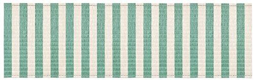 TRENDY Store enrouleur en raphia synthétique 90 x 300 cm pour décoration de jardin, balcon, terrasse (havane marron)