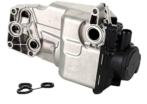 Engine Oil Filter Housing For Volvo C30 C70 S40 V50 S60 V60 XC60 5 Cly. 2.4L 2.5T 31338685