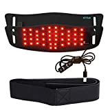 Cirius LED Belt Compact Near-Infrared Red Light Therapy Device Home Use Wearable Deep Penetrating Low-Level Light Therapy for Pain Relief, Muscle Therapy