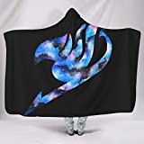 hfrhkudl Breathable Bright Colors Hoodie Wearable Super Soft Throw Blanket Make People Sleep Well for Bed in Cold Weather Family Style White 60x80 inch