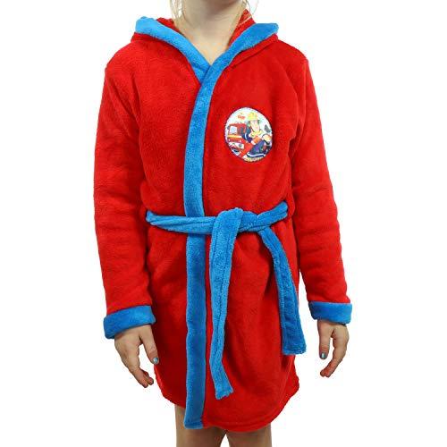 TVM Europe badjas voor kinderen, brandweerman Sam, Frozen, Paw Patrol van zacht fleece met capuchon