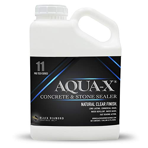 1 Gallon AQUA-X 11 Clear, Penetrating Concrete Sealer – Mold and Mildew Inhibitor