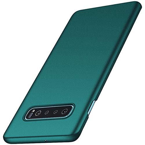 Jacyren Hülle für Samsung Galaxy S10 Ultra Dünn Matt PC Case [Anti-Kratzen] Schutzhülle Handyhülle [Anti-Fingerabdruck] Schutzschale Cover für Galaxy S10 Plus/S10 Lite (Galaxy S10, Grün S)