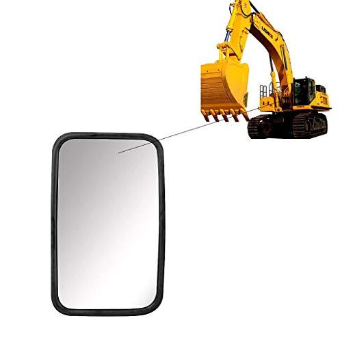 governingsoldiers 1X Universal Retrovisor Excavadoras, Espejo Exterior 160 X 255 Mm Juego Espejo Laterales, para Tractor Excavadora CamióN Caravana,VehíCulos Industriales