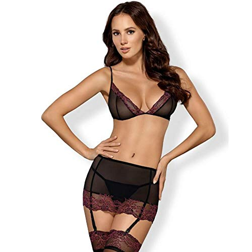 OBSESSIVE SETS Damen Outlet Lenceria Dessous-Set Not Applicable, Multicolor, S/M