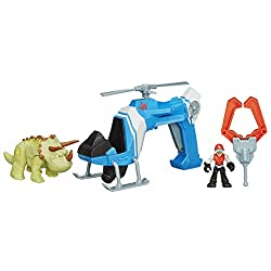 4. Playskool Heroes Jurassic World Dino Tracker Copter Toy