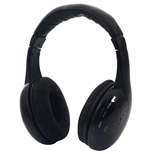 Noise Cancelling Headphones, Headphones Over Ear Soft Protein Earpads, Wireless Headphones for TV Travel Work