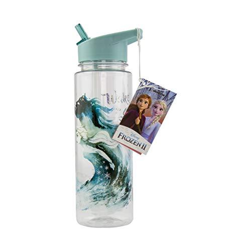 Paladone 2 Botella de agua | Diseño a prueba de derrames y fugas | Perfecto para el hogar, la escuela y la oficina con licencia oficial de Frozen Coleccionable, Multi, 650 ml