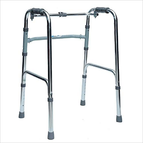4 Wheel Rollator with Muletas con Ruedas for Discapacitados Ancianos De Cuatro Patas Andadores De Brazos for Caminantes De Edad Avanzada,B