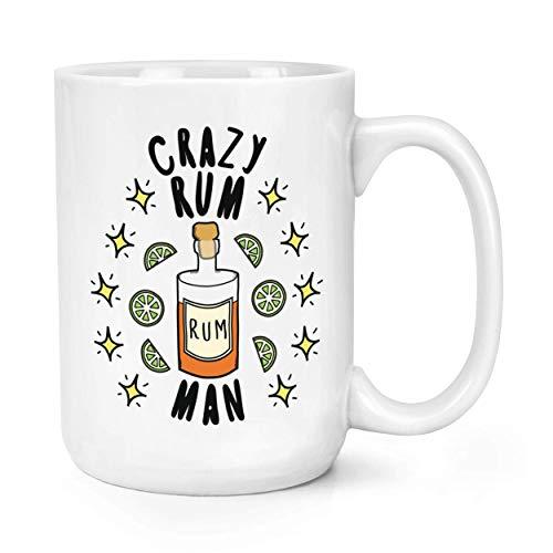 N\A Tazas de café de cerámica Divertidas, el Hombre Loco del Ron protagoniza la Taza Grande de la Taza 11oz