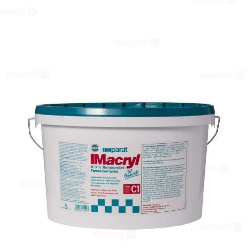 IMparat Imacryl weiß 5l - Seidenmatte Reinacrylat Fassadenfarbe