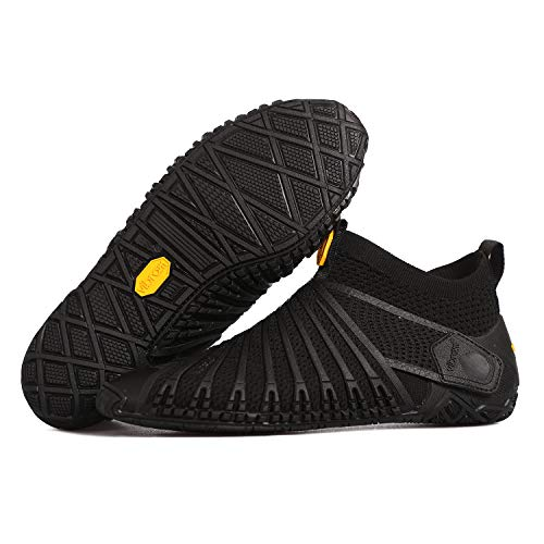 Furoshiki Vibram FiveFingers Knit High Original - Zapatillas para mujer (transpirables), color Negro, talla 41 EU