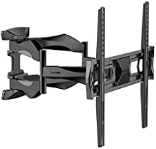 Fleximounts TV Wall Mount Long Extension Bracket Full Motion Articulating Swivel Tilt for Most 32-60 Inch LED LCD Flat Screen up to VESA 400x400mm
