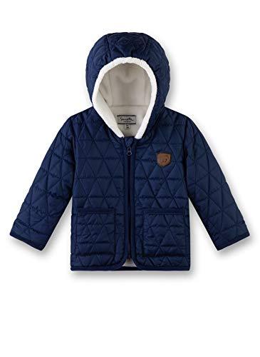 Sanetta Baby-Jungen Outdoorjacket Jacke, Blau (Deep Blue 5993), 80 (Herstellergröße: 080)