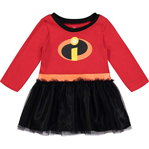 Disney Pixar The Incredibles Toddler Girls' Costume Dress, 4T