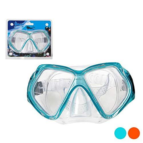 BigBuy Outdoor S1123064 duikbril, uniseks, volwassenen, blauw, eenheidsmaat