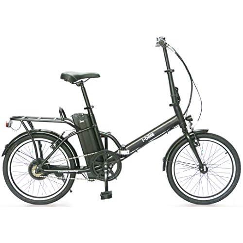 i-Bike Fold Flip ITA99, Bicicletta elettrica Ripiegabile Unisex Adulto, Nero, Unica