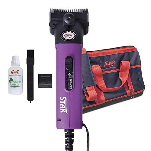 Wahl Lister Star Clipper, Cattle Professional Clipper, Powerful 150 W...