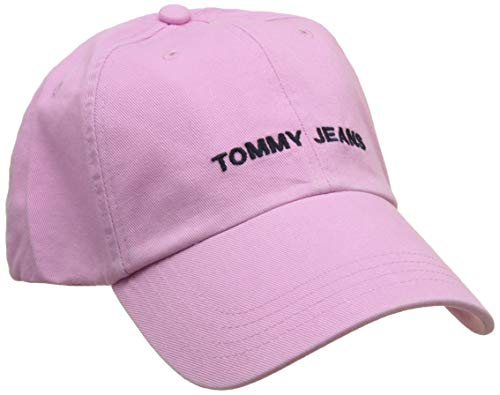 Tommy Hilfiger Unisex TJU Sport Baseball Cap, Violett (Lilac Chiffon 518), One Size (Herstellergröße: OS)
