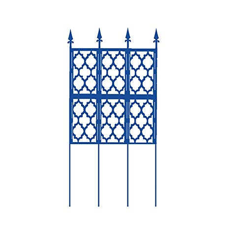 OuPai Sunblock Shade Cloth Garden Trellis for Climbing Plants Sturdy Trellis Plants Support Outdoor for Climbing Vegetable Rose Potted Plants Flower Cucumber Clematis in 4 sizes with Grommets