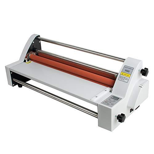 Zorvo - Máquina de laminado de película de 17.7in, laminadora de laminado en frío, para uso industrial en frío y caliente, gran formato, resistente, de una sola y doble cara, laminadora de fotos
