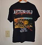 FINAL PRICE Travis Scott Astroworld Tour Merch 2019 T Shirt -3XL Black