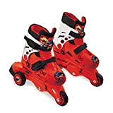 Lady Bug Miraculous MD-18546 Patines, Multicolor, Talla Ajustable