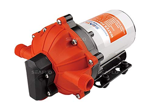 SEAFLO 55-Series Diaphragm Pump - 12V DC, 5.5 GPM, 60 PSI