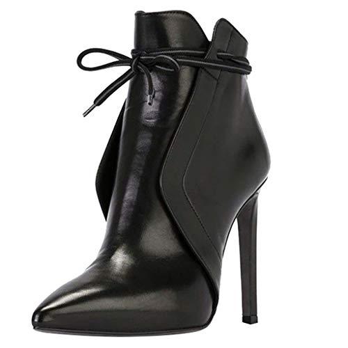 manadlian Femme Bottes Stiletto Chaussure Hiver Mode...