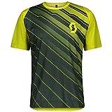 Scott Trail Vertic 2021 - Maillot corto para ciclismo, color gris y beige, verde, 50-52