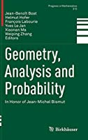 Geometry, Analysis and Probability: In Honor of Jean-Michel Bismut (Progress in Mathematics (310))