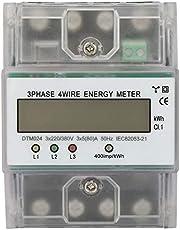 220/380 V 5-80 A energiförbrukning digital elektrisk effektmätare 3 fas 4P KWh meter med digitala LCD-produkter används ofta i kraftmätningssystem.