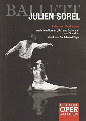 Programmheft JULIEN SOREL Ballett von Youri Vamos Premiere 10 März 2006 Theater Duisburg