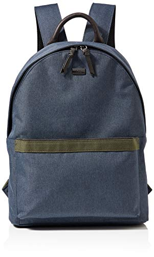Ted Baker LONDON Nylon Backpack, Zaino Uomo, Marina Militare, One Size