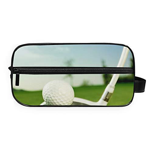 RELEESSS Trousse de toilette légère et portable en forme de balle de golf