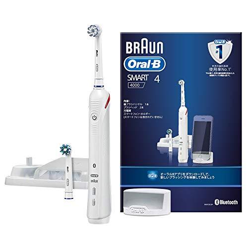 ブラウン オーラルB 電動歯ブラシ スマート4000 D6015253P