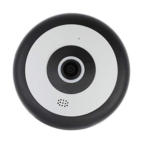 Pwshymi Visión Nocturna por Infrarrojos Cámara panorámica Inteligente 1080P HD de 360 Grados Mini para vigilancia de(100-240V British Standard)