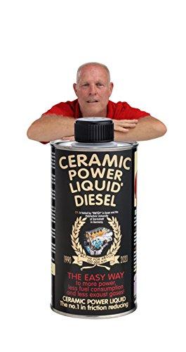 CERAMIC POWER LIQUID TRATTAMENTO MOTORE ATTIVO PER 100.000 KM Ceramic power liquid Traitement Moteur actif pour 100 000 km Diesel 500 ml pour moteurs jusqu'à 2500 CC.