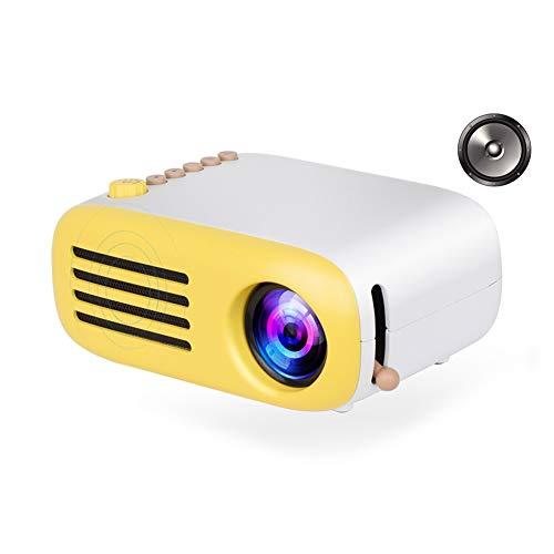 Ankoy Mini LED Pocket Projektor Hause Beamer Kinder Geschenk USB HDMI Video Tragbare Projektor