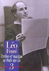 Léo Ferré Paroles et Musique de toute une vie - Vol.3 1959-1962