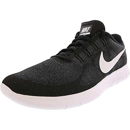 NIKE Men's Free RN Running Shoe (12.5 D(M) US, Black/White/Dark Grey/Anthracite)