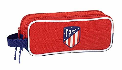Safta Estuche Atlético De Madrid 'Coraje' Oficial Escolar 210x60x80mm