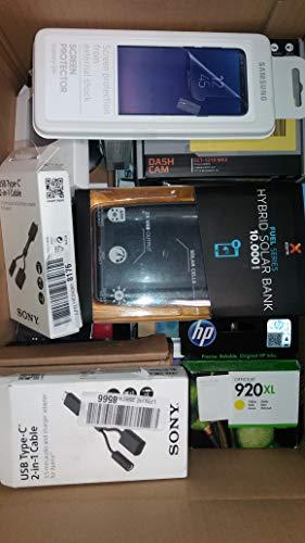 KundF Markenware Mischposten aus Versandhandelsretouren Retourware (Technik, Mobilfunk, Smartphone, Tablet, Festnetz) für B2B, Flohmarkt & Bastler Überraschungspaket mit min. 30 Teile