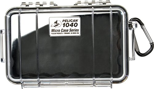 Pelican 1040 Micro Case Black/Clear Model:1040025100