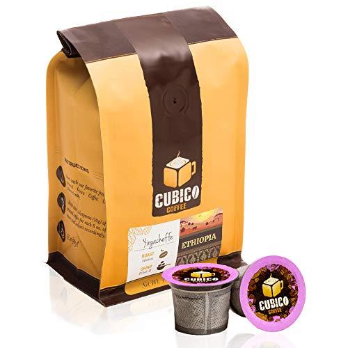 Ethiopia Yirgacheffe Coffee - Single Serve Capsules for Keurig K-Cup...