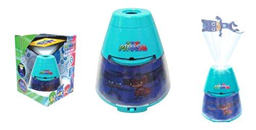 Joy Toy PJ Masks SUPERPIGIAMINI Lampada 2 in 1: Luce da Notte E PROIETTORE,, 1