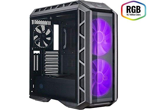 YLJYJ Caja de Ordenador, PC Gaming,ATX, Premium ATX Mid Tempered Glass Gaming Case